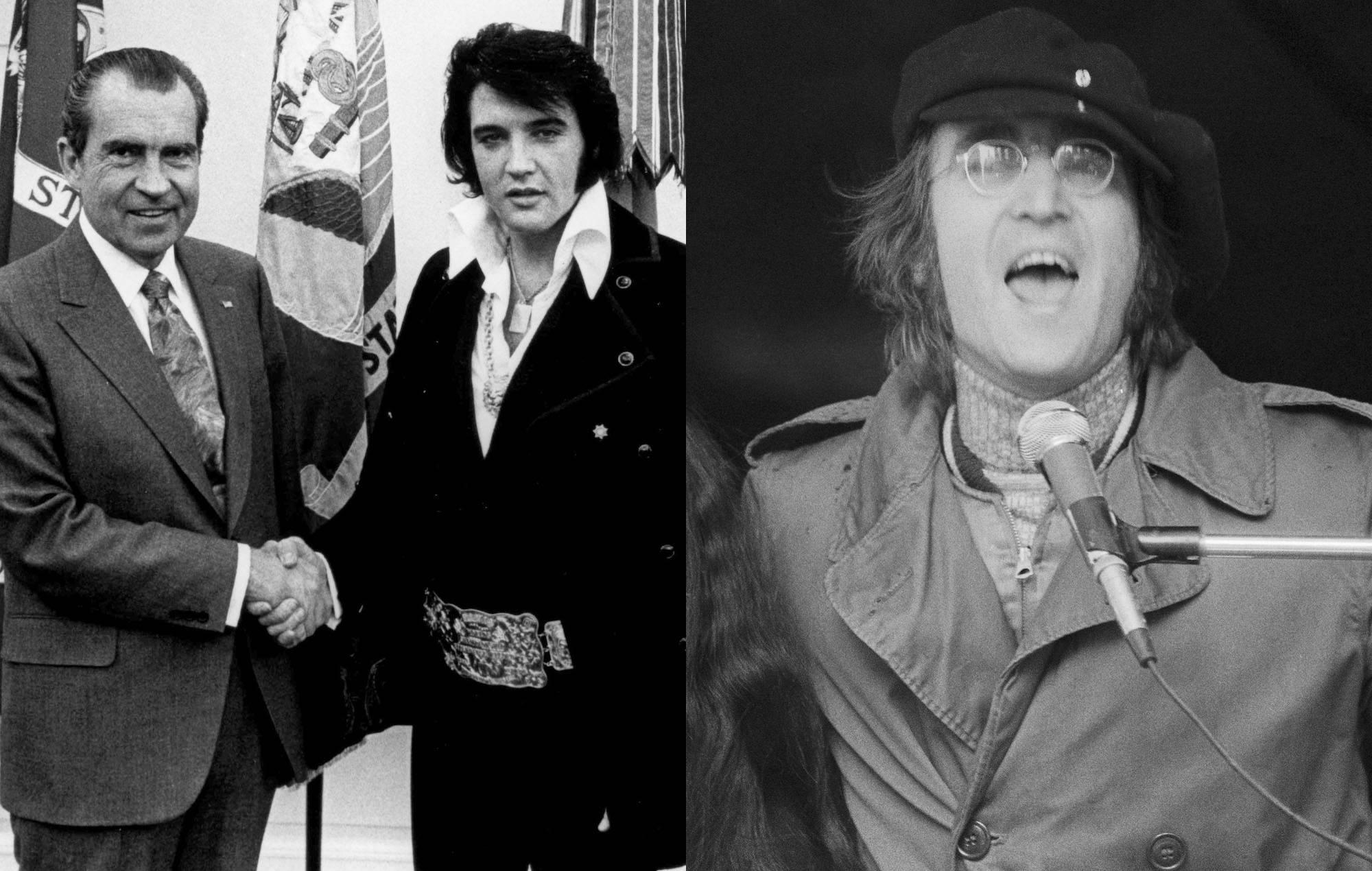 Bob Harris says Richard Nixon asked Elvis Presley to spy on John Lennon