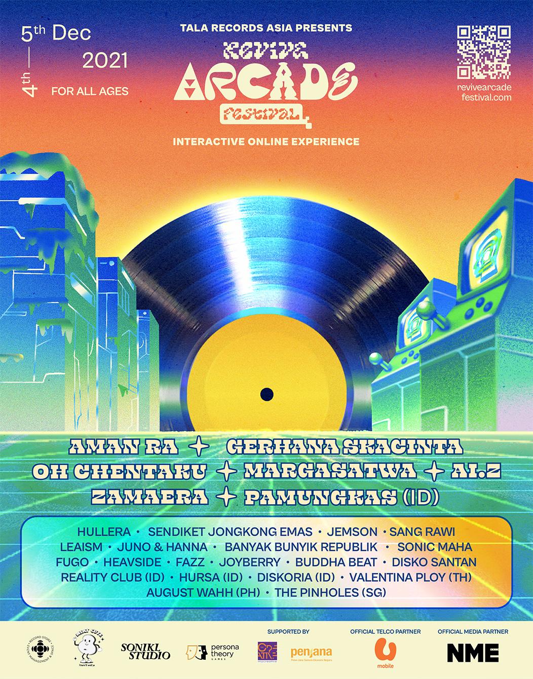Revive Arcade Festival 2021 Malaysia Pamungkas Zamaera Aman Ra