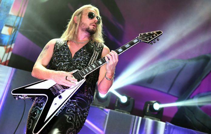 Guitarist Richie Faulkner of Judas Priest