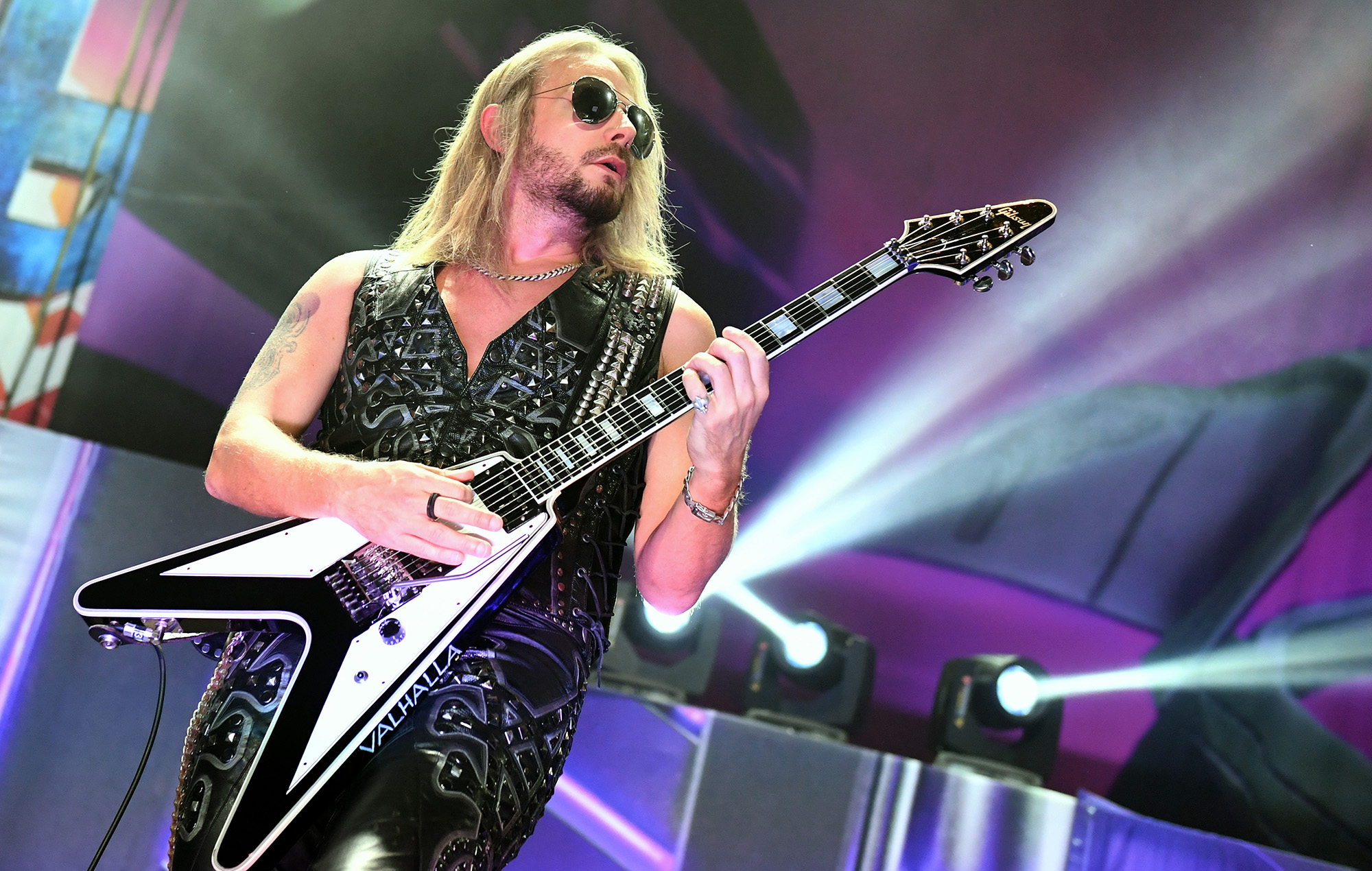 """Judas Priest's Richie Faulkner """"stable and resting"""" after major heart  surgery → Latest Music News → Cgivaldi"""