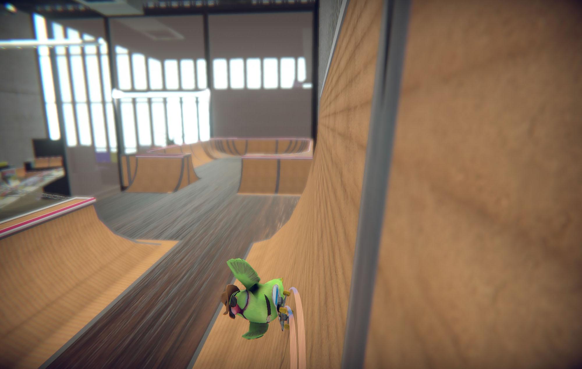 Skatebird. Image Credit: Glass Bottom Games