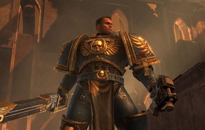 Warhammer 40,000: Space Marine Anniversary Edition. Image credit: Sega