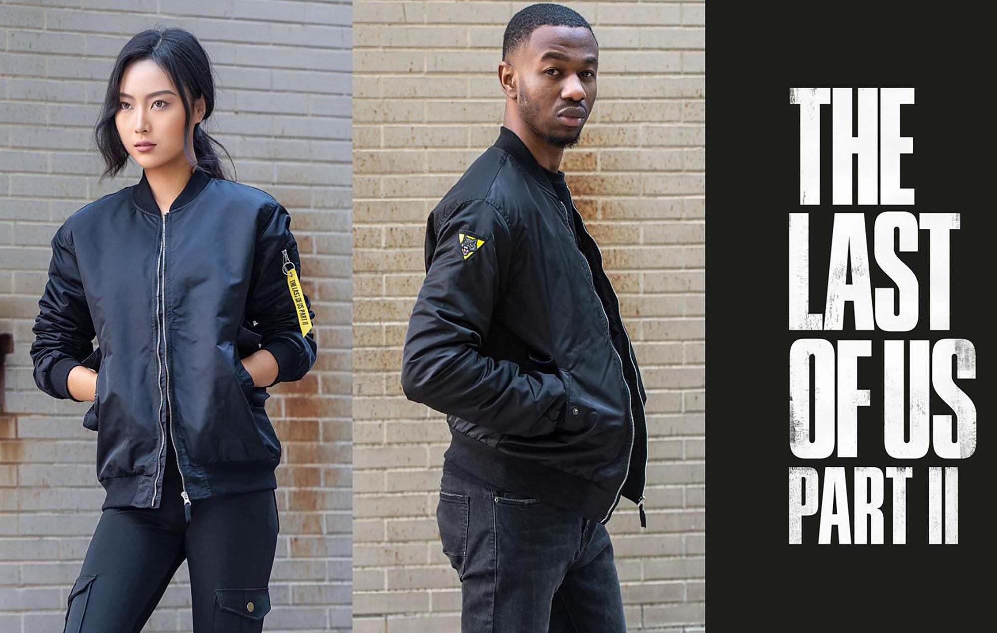 The Last Of Us bomber jacket. Image credit: Naughty Dog Studios