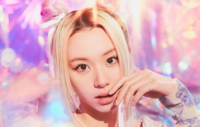 twice chaeyoung jyp new music album