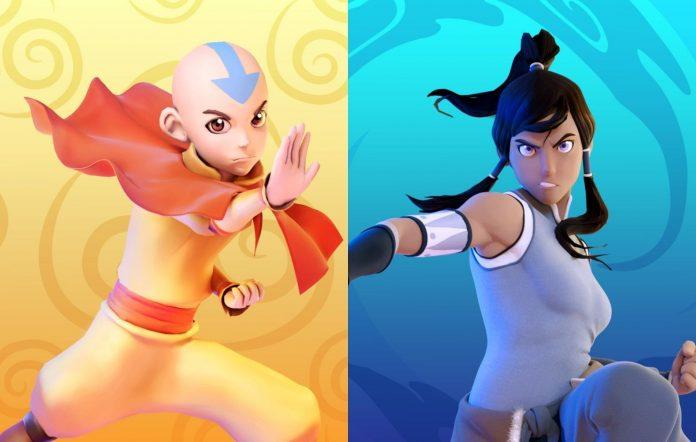 Nickelodeon All-Star Brawl Aang Korra