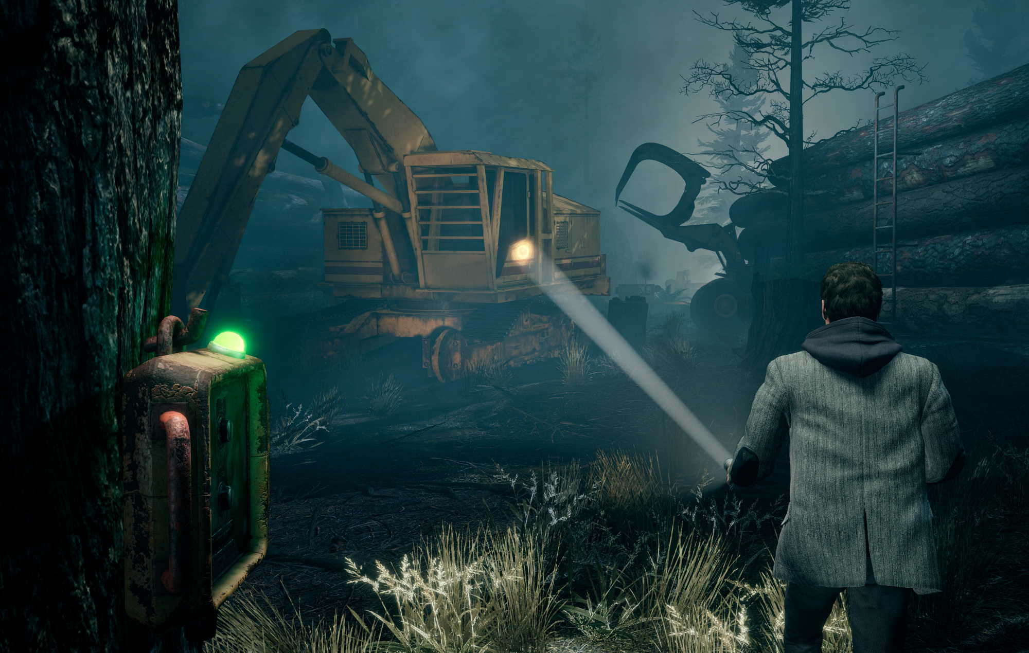 Alan Wake Remastered - man versus machine