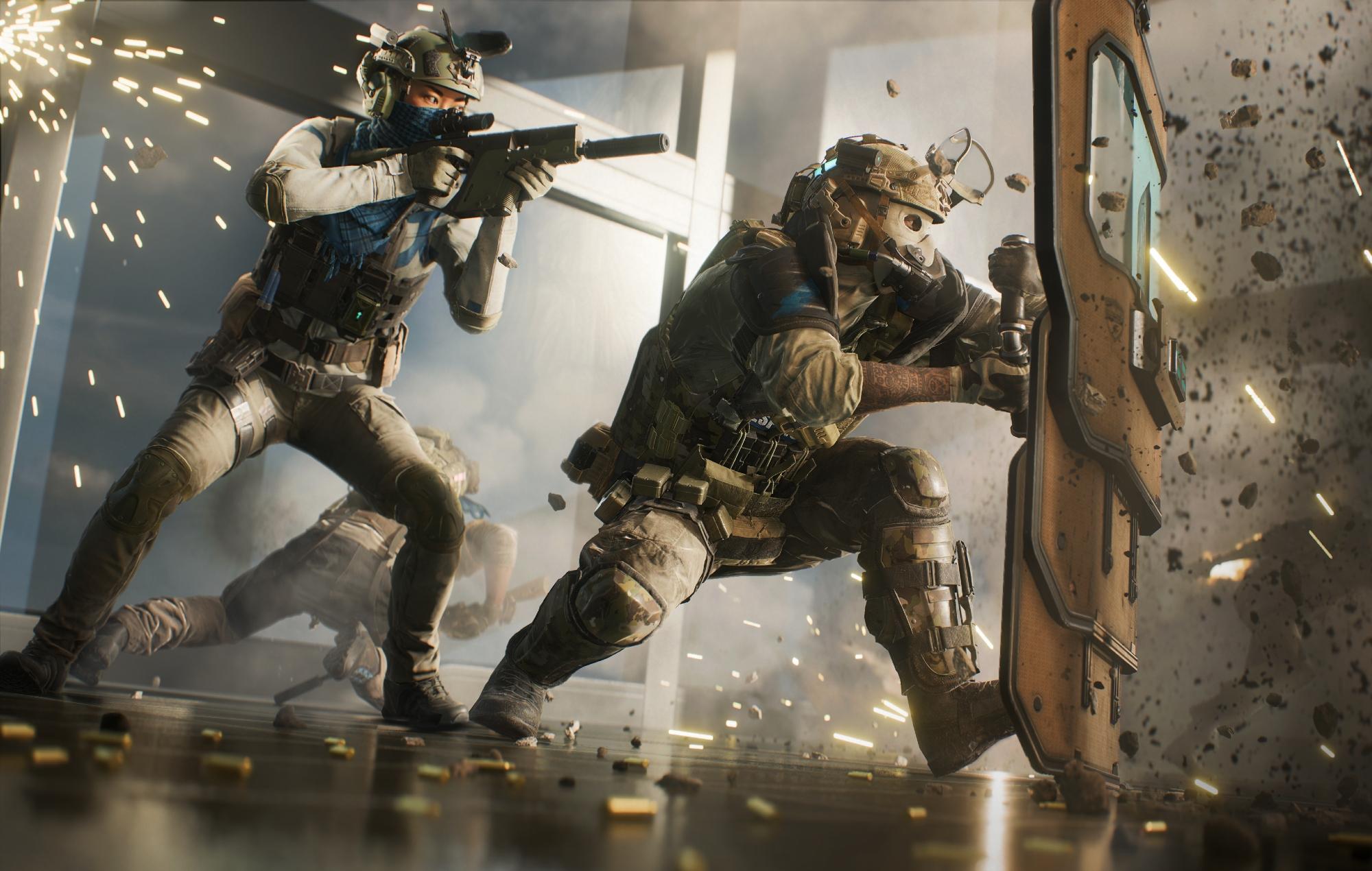 Battlefield 2042 hazard mode fight