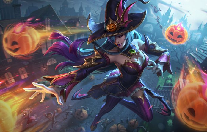 League Of Legends Bewitching Syndra
