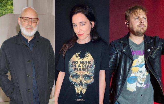 Brian Eno, Fay Milton, Sam Carter