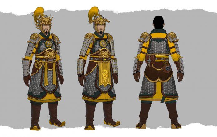 Total War: Warhammer 3 celestial dragon guard