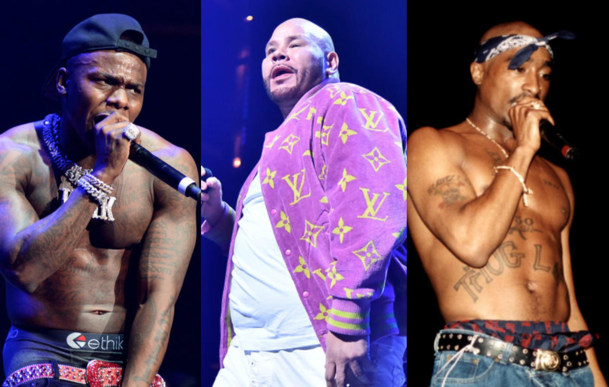 DaBaby, Fat Joe and 2Pac