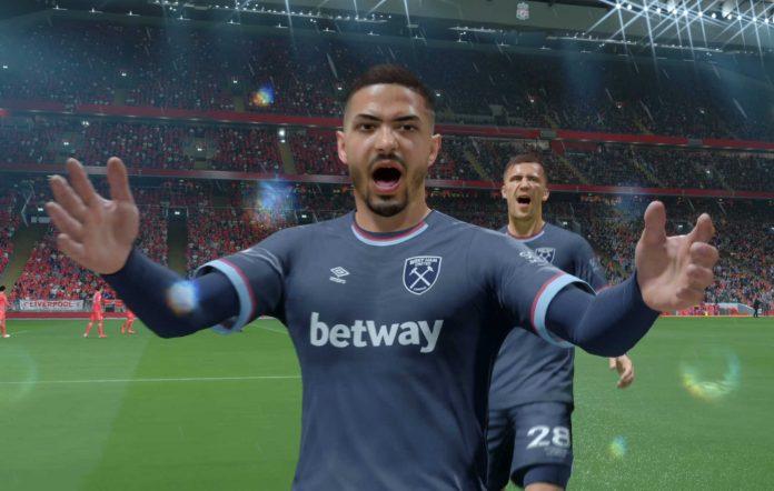 FIFA 22 Lanzini Goal