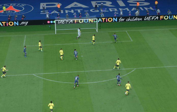 FIFA 22 Mbappe Goal
