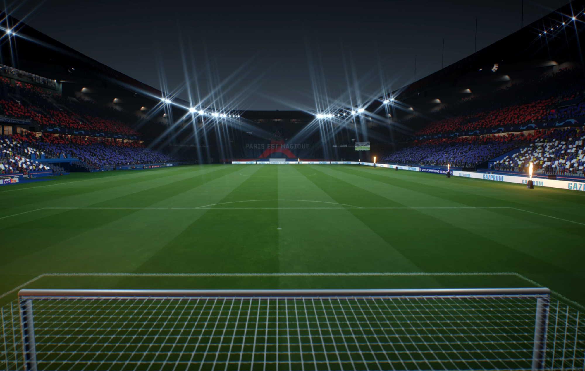 FIFA 22 PSG Stadium