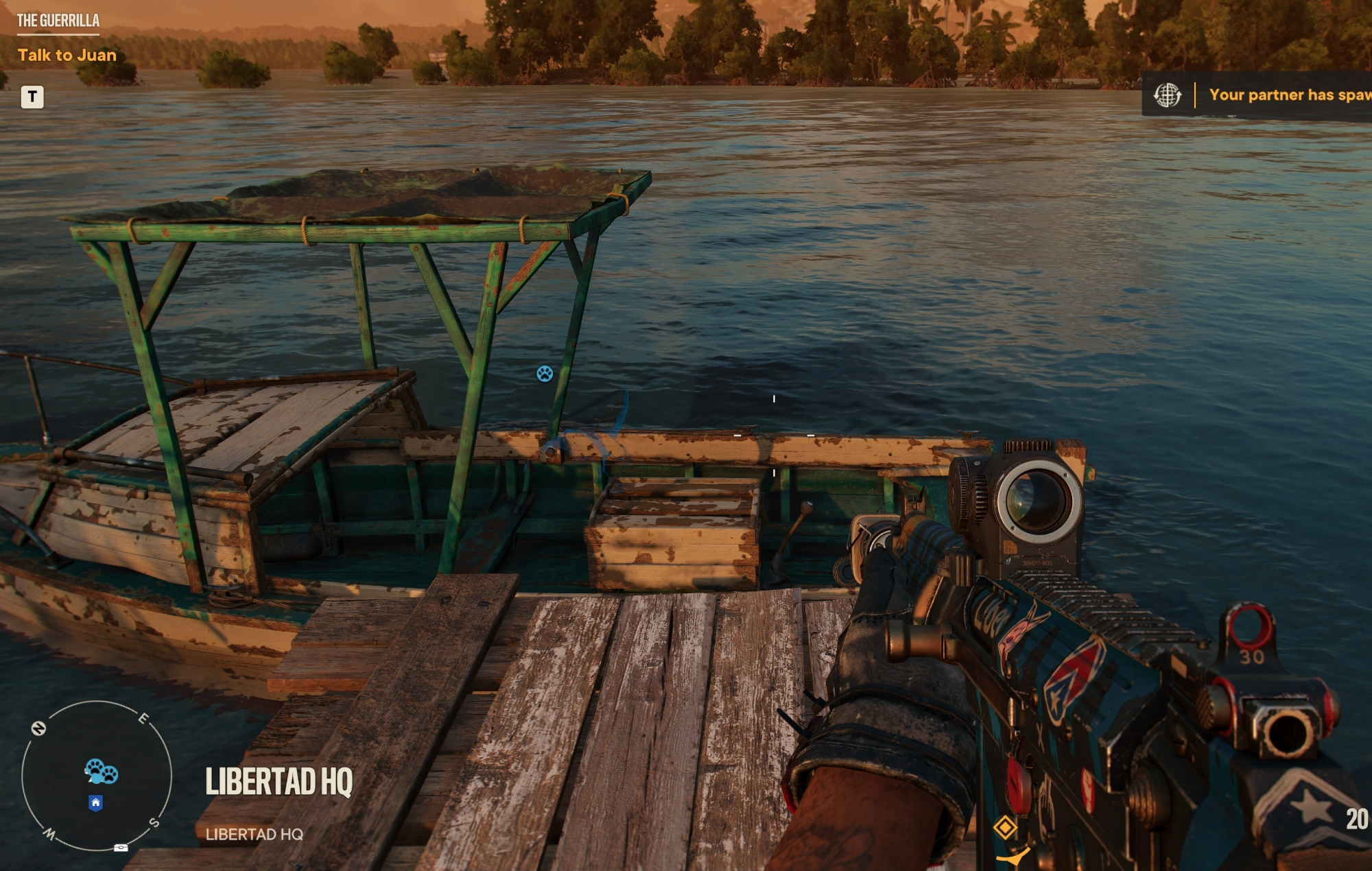 Far Cry 6 boat secret ending