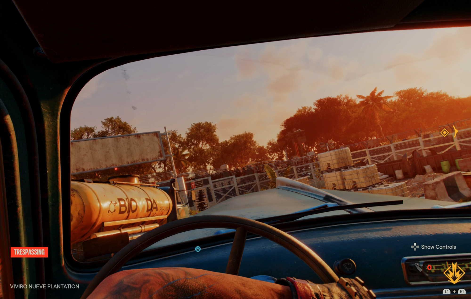 Far Cry 6 Driving