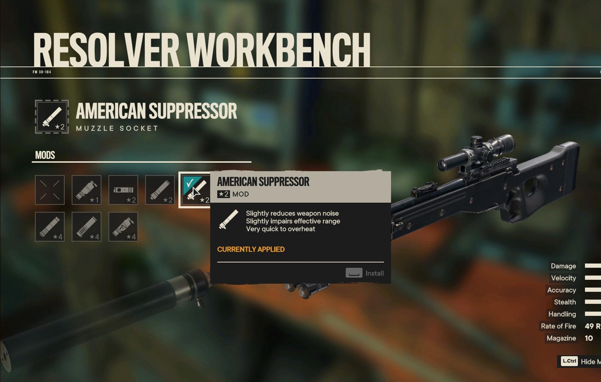 Far Cry 6 suppressors