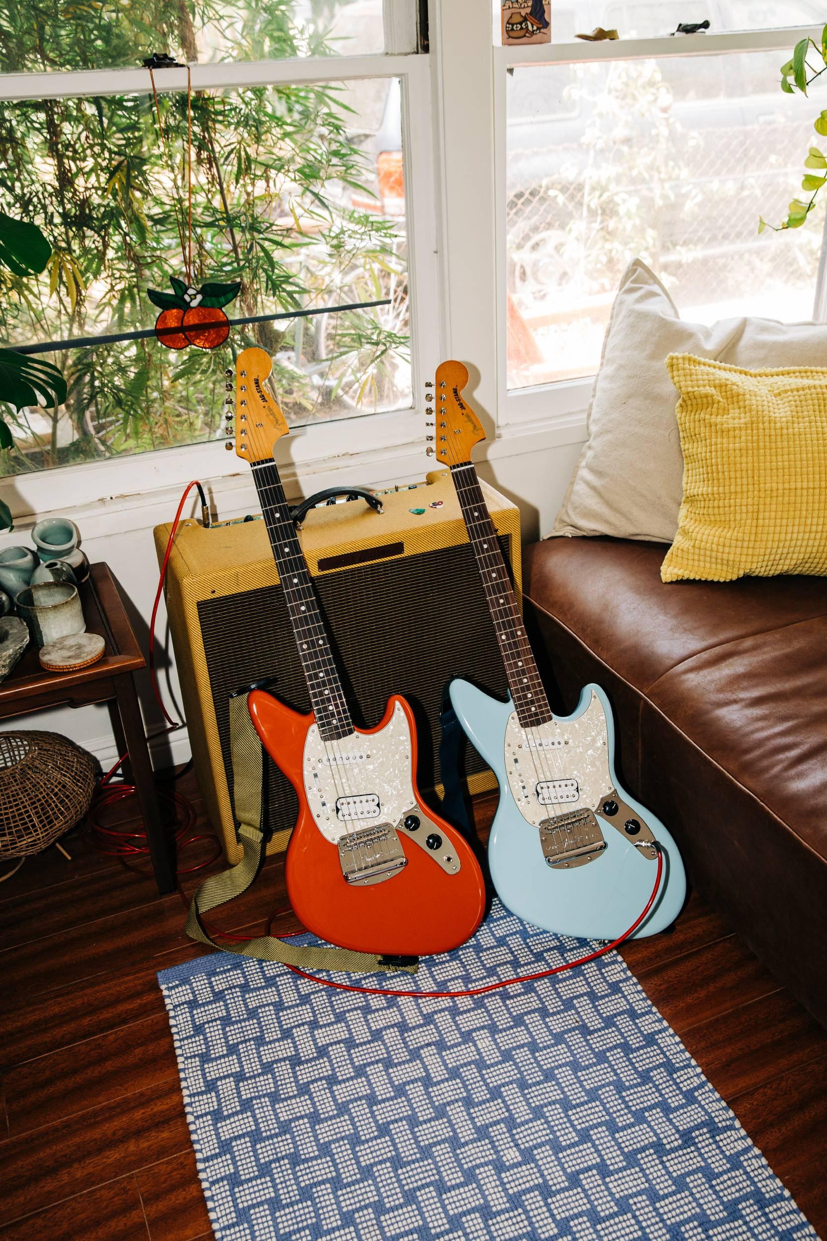 The Kurt Cobain Jag-Stang guitars