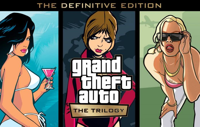 Grand Theft Auto: The Trilogy – The Definitive Edition - key art