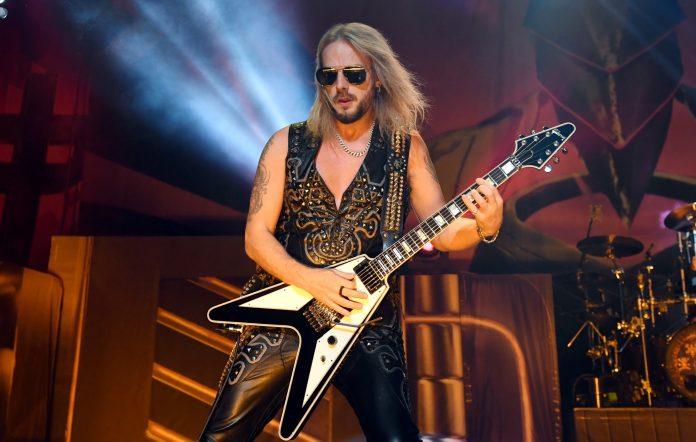 Judas Priest's Richie Faulkner