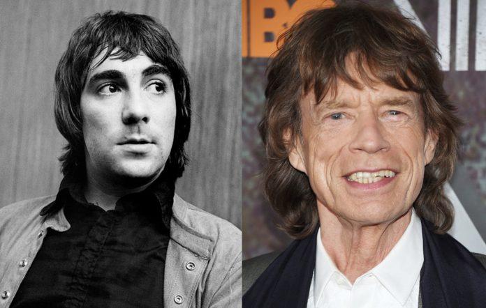 Keith Moon and Mick Jagger