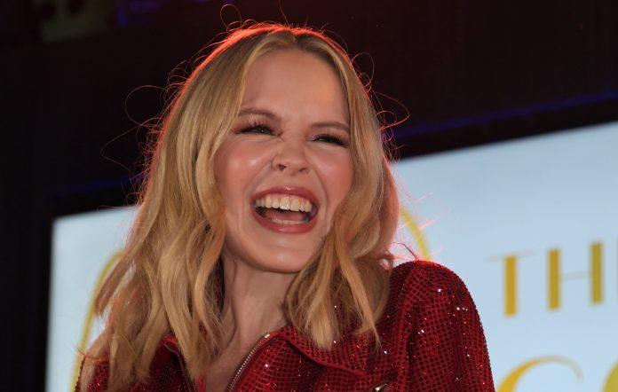 Kylie Minogue. Credit: David M. Benett/Getty Images for Gerard Basset Foundation