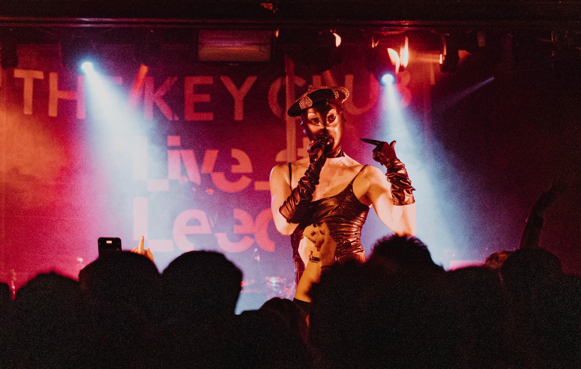 Lynks plays Live At Leeds venue Key Club (Credit: Katie Mcmillan)