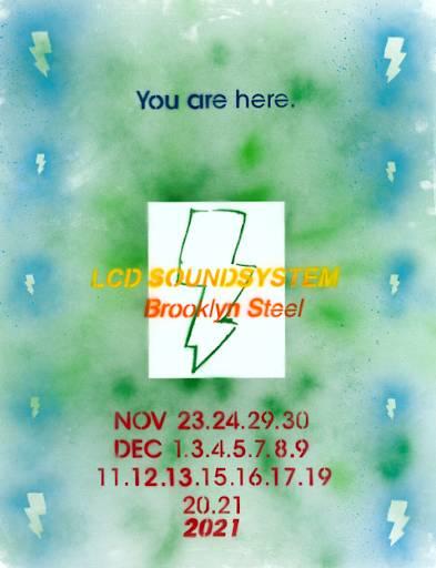 LCD Soundsystem New York residency, 2021