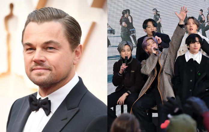 Leonardo DiCaprio is a fan of BTS