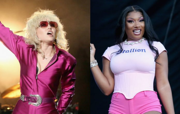 Miley Cyrus and Megan Thee Stallion