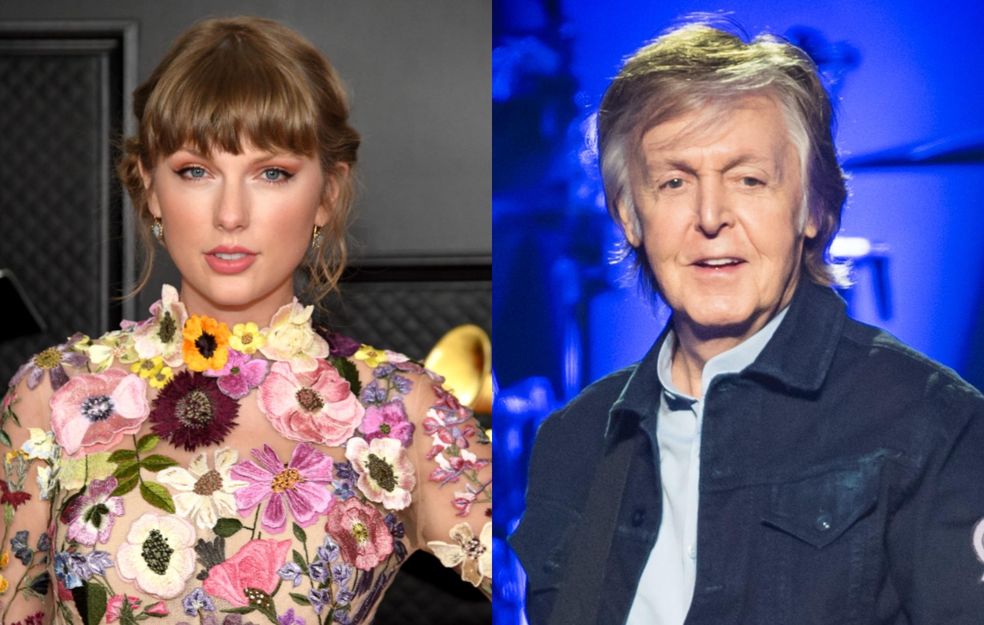 Taylor Swift, Paul McCartney