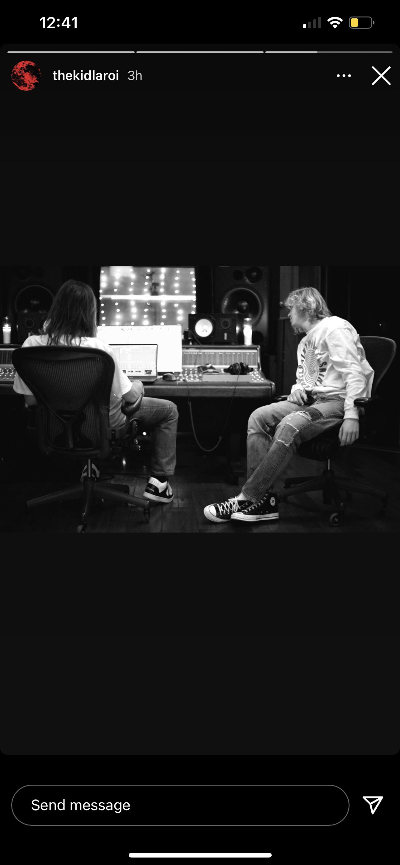 The Kid LAROI teases collaboration with Tame Impala