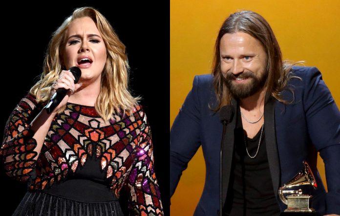 Adele and Max Martin