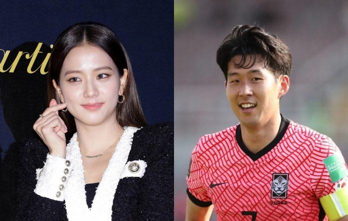 blackpink jisoo son heung-min dating