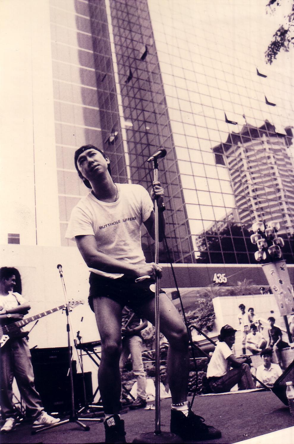 Chris Ho X'ho Singapore DJ musician Zircon Lounge obituary