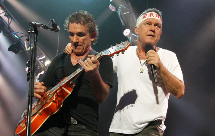 Cold Chisel performing in 2011