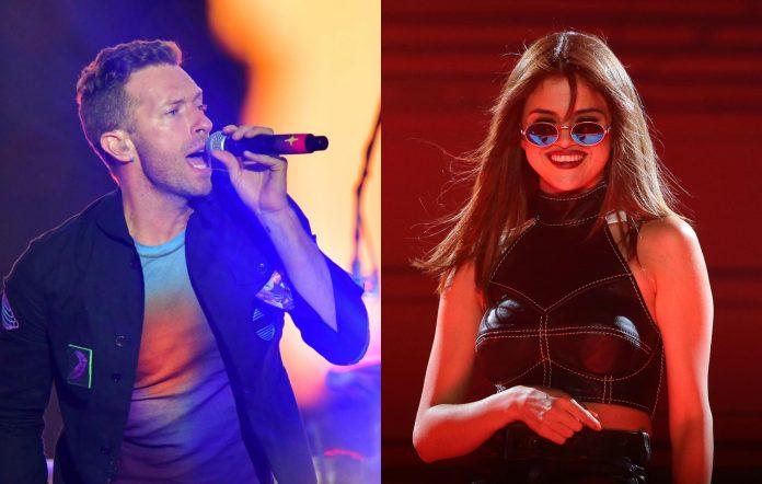 Chris Martin, Selena Gomez