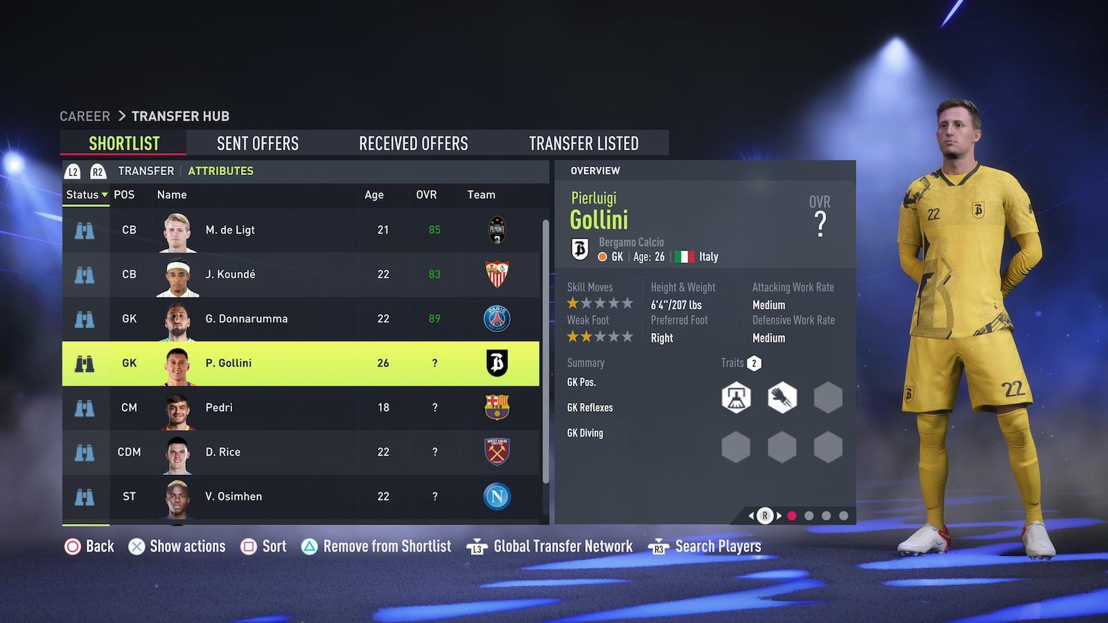 FIFA Ultimate Team – Best goalkeepers. Credit: EA