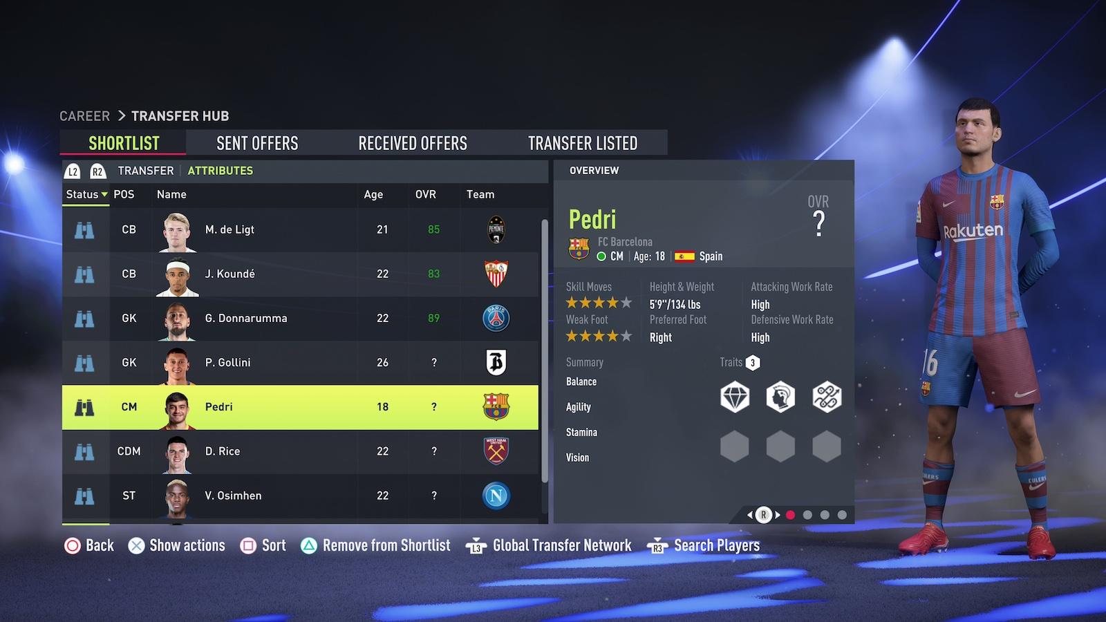 FIFA Ultimate Team – Best midfielders. Credit: EA