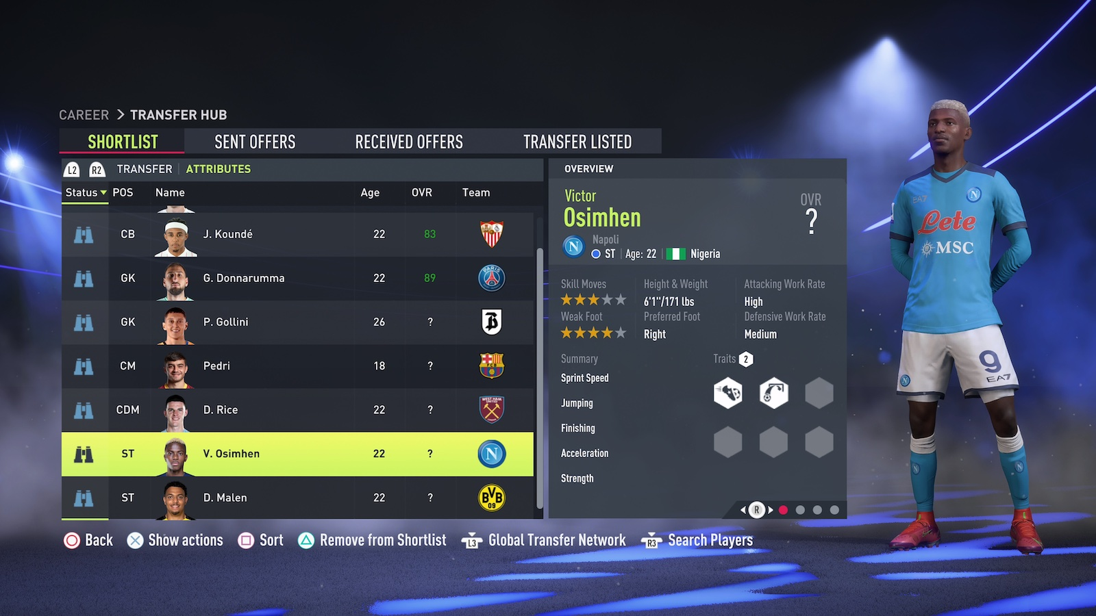 FIFA 22 – Best strikers. Credit: EA
