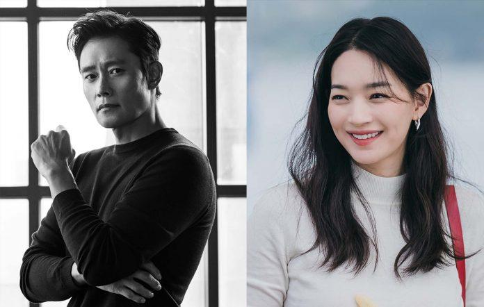lee byung hun shin min a our blues new drama 20211007