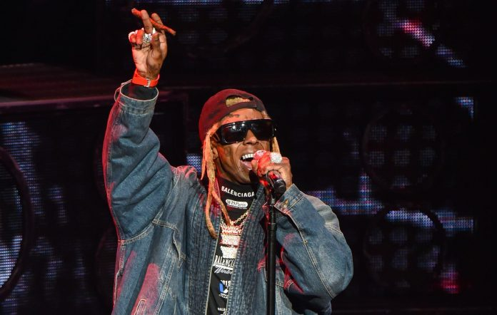 Lil Wayne performs live in 2019