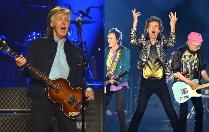 Paul McCartney / The Rolling Stones