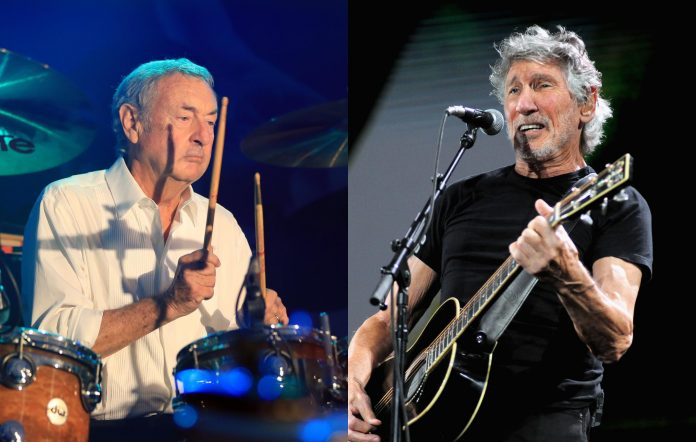 Nick Mason and Roger Waters, formerly of Pink Floyd
