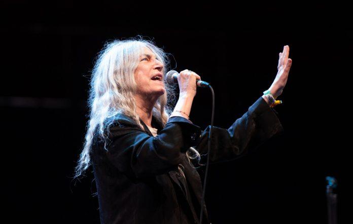 Patti Smith performs at the Royal Albert Hall (Credit: Joseph Okpako/WireImage)
