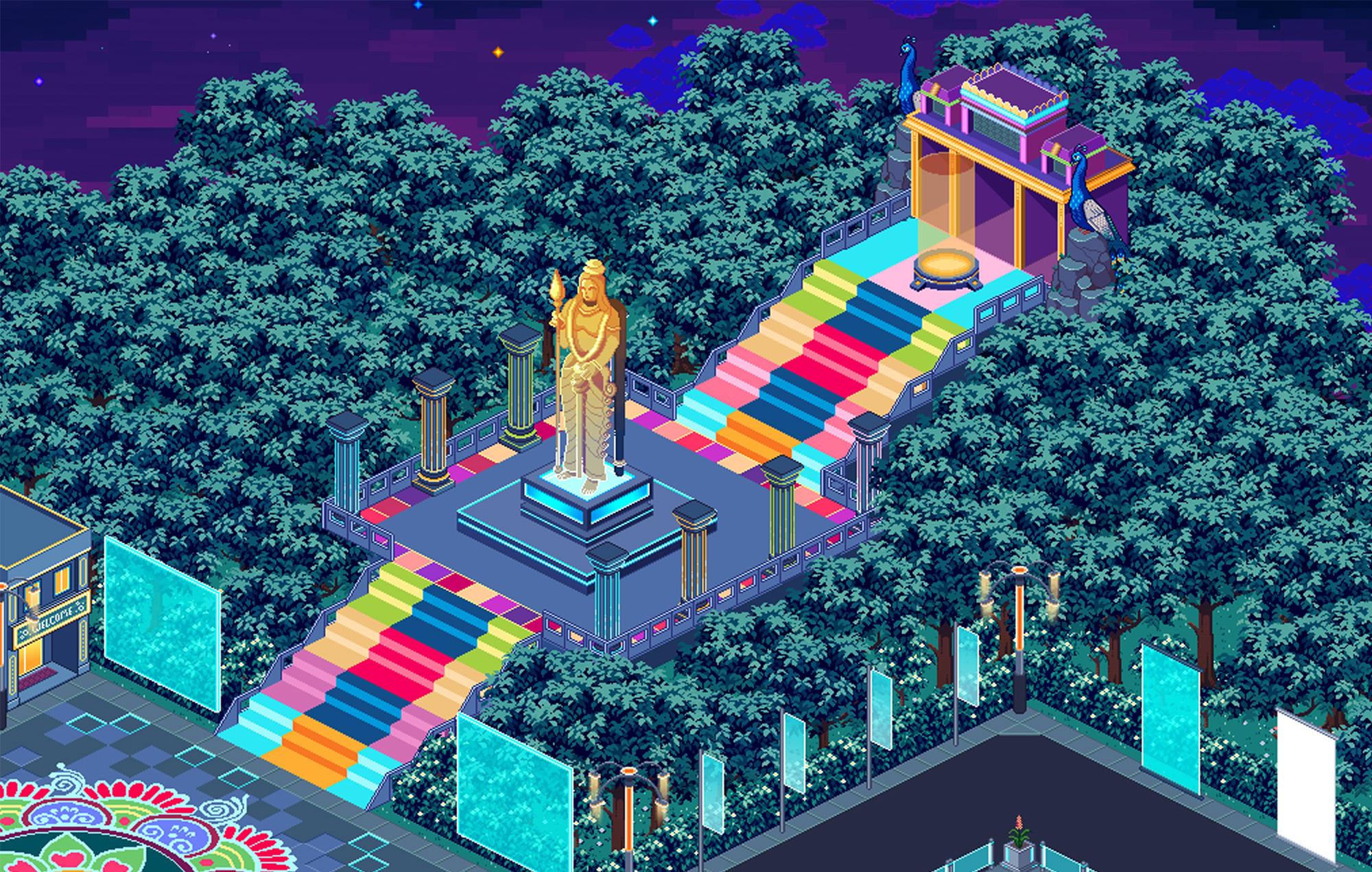 Revive Arcade Festival 2021 Malaysia Zamaera Diskoria Pamungkas Aman Ra
