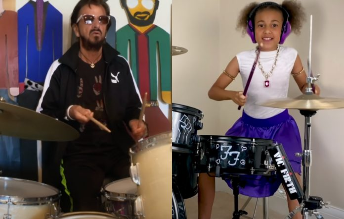ringo starr nandi bushell why hunger the beatles come together