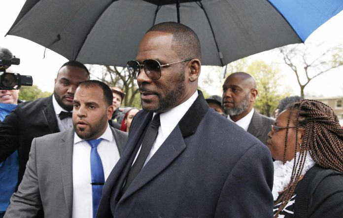 R. Kelly pictured in 2019
