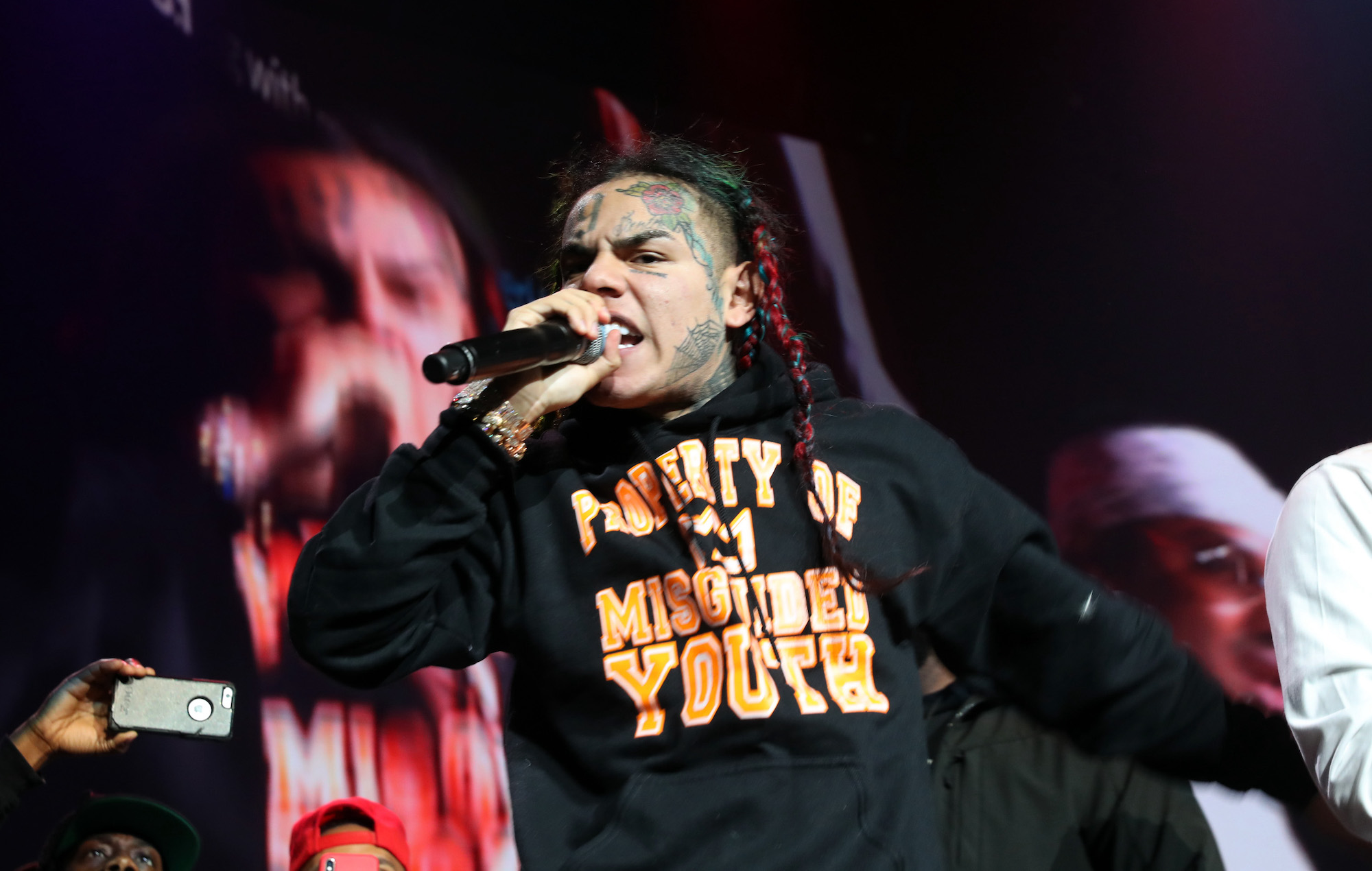 Tekashi 6ix9ine's Spotify page hacked and edited with NSFW content